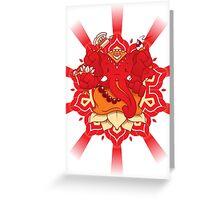 My divine Friend! Greeting Card
