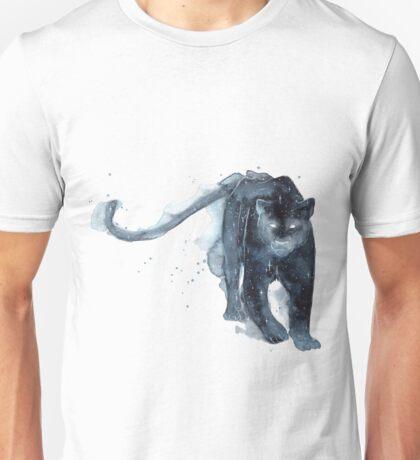 Galaxy Black Panther Unisex T-Shirt
