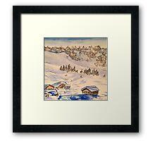 Alps Framed Print
