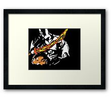 Medieval Knight Skyrim Fan Art  Framed Print
