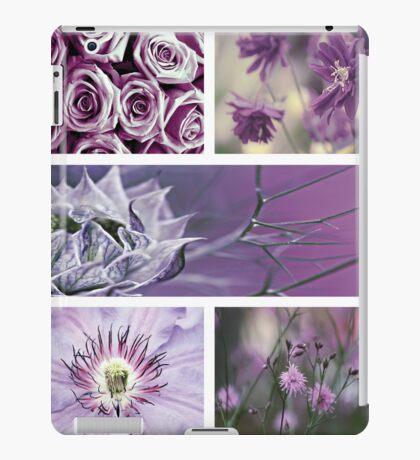 Collection ~ Purple Flowers iPad Case/Skin