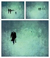 Project ~ People - Triptych by Anne Staub