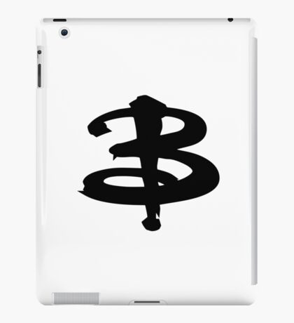 Buffy black iPad Case/Skin
