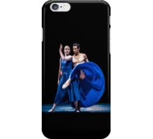 Blue moves iPhone Case/Skin