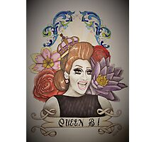 Drawing of Bianca Del Rio Photographic Print