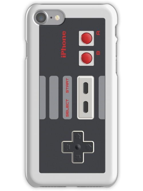 Classic NES Controller - iPhone by mechantefille
