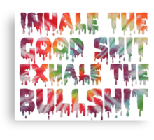 Inhale Canvas Print