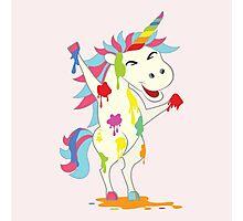 Crazy Unicorn - Wild Happiness Photographic Print