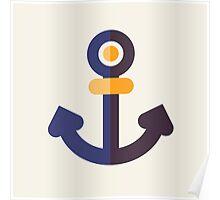 Nautical - Anchor Poster