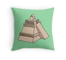 Ancient Egyptian Painting - Pyramid Throw Pillow