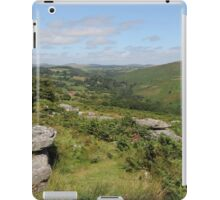 View from Combestone Tor iPad Case/Skin