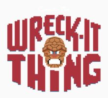 Wreck-it time! (Red Edition) Kids Clothes
