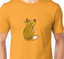 fuchs fuxx zeichnung braun fell Unisex T-Shirt