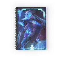 Project Ashe - League Of Legends Spiral Notebook