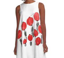 Lanterns A-Line Dress