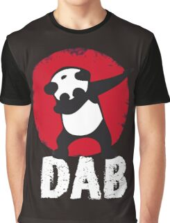 DAB PANDA keep calm and dab dabber dance football touch down Graphic T-Shirt