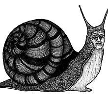 Sebastian the Snail by BettyRocksteady