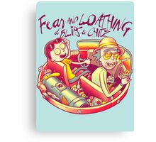Fear and Loathing at Blips & Chitz Canvas Print