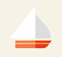 Nautical - Sailboat by martinestella