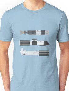 OT Star Wars Lightsaber Trio Unisex T-Shirt