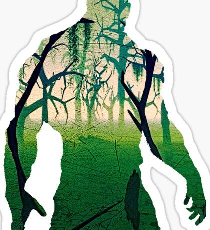 Swamp Thing Sticker