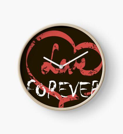 Love forever Clock