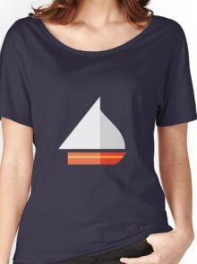 Nautical - Sailboat Women's Relaxed Fit T-Shirt