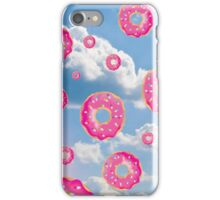 Pink Molly Donut Raindrop iPhone Case/Skin