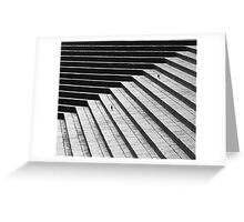 Steps and Starlings Greeting Card