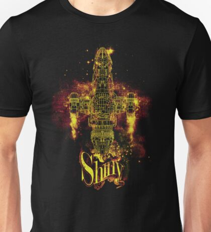 shiny spaceship Unisex T-Shirt