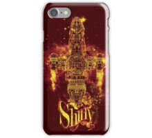 shiny spaceship iPhone Case/Skin