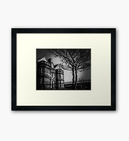 Haunted Framed Print