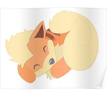 Hand Crafted Growlithe Poster