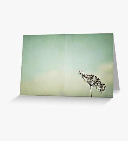 Une histoire d'hiver Greeting Card