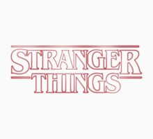 Stranger Things One Piece - Short Sleeve