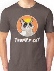 Trumpy Cat trump kitty blond pony funny joke trump orange Unisex T-Shirt