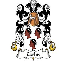 Carlin Coat of Arms (French) Photographic Print
