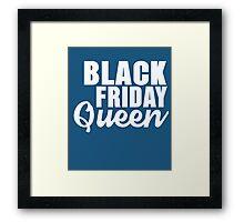 Black Friday Queen Framed Print
