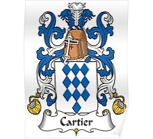 Cartier Coat of Arms (French) Poster