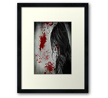 Horror Poster Framed Print