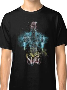 shiny space ship Classic T-Shirt
