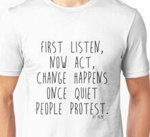 Quiet People Unisex T-Shirt