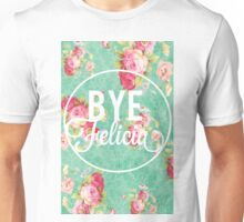 Vintage Fabric Floral Bye Felicia Unisex T-Shirt