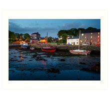 Kinvara  Co Galway  Ireland Art Print