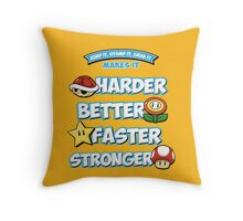 Daft Plumber Throw Pillow