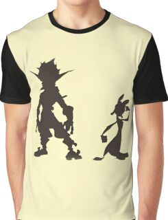Jak and Daxter: The Precursor Legacy Silhouette Graphic T-Shirt