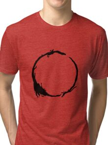 Arrival Movie Circle Language 4 Tri-blend T-Shirt