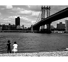 Our First Date Photographic Print