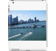 Downtown Miami iPad Case/Skin