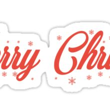 Merry Christmas comment Sticker